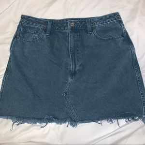 Abercrombie and Fitch Vintage Denim Skirt